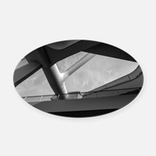 Milwaukee Art 1 Oval Car Magnet