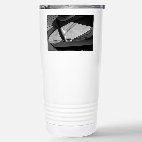 Milwaukee Art 1 Stainless Steel Travel Mug