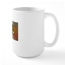 Woman's eyes, computer artwork Mug