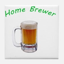 Home Brewer Tile Coaster