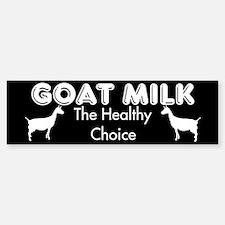 Goat Milk Bumper Bumper Bumper Sticker