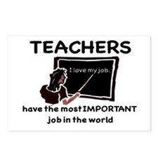 Most Important Job Postcards (Package of 8)