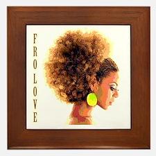 Fro Love Framed Tile