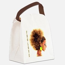 Fro Love Canvas Lunch Bag