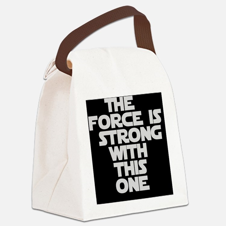 The Force Canvas Lunch Bag