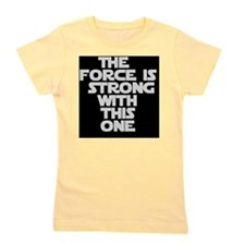 The Force Girl's Tee