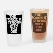 The Force Drinking Glass