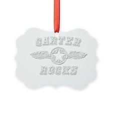 CARTER ROCKS Ornament