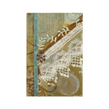 Gift Wrap Collage Rectangle Magnet