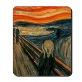 Munch's the scream Classic Mousepad