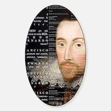 Shakespeare, Hamlet, Decal