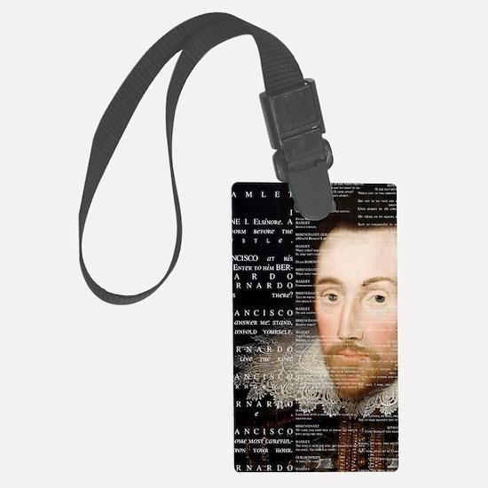 Shakespeare, Hamlet, Large Luggage Tag