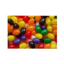 Jelly Beans Rectangle Magnet