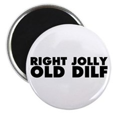 Right Jolly Old Dilf Magnet