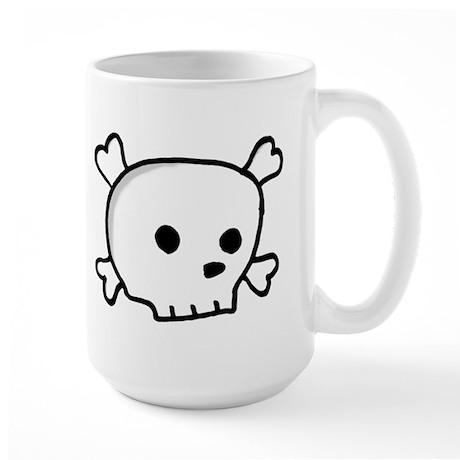 Wee Pirate Skull - Large Mug