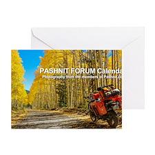 2013 Pashnit Forum Calendar Greeting Card