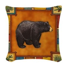 Bear Best Seller Woven Throw Pillow
