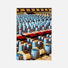 Music Studio Rectangle Magnet
