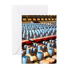 Music Studio Greeting Card