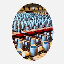 Music Studio Oval Ornament