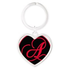 AoA Logo Heart Keychain
