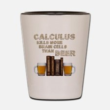 Calculus  and Beer Shot Glass