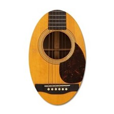 Acoustic Guitar Wall Decal