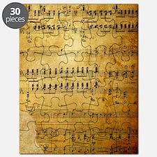 Sheet Music, Vintage, Puzzle