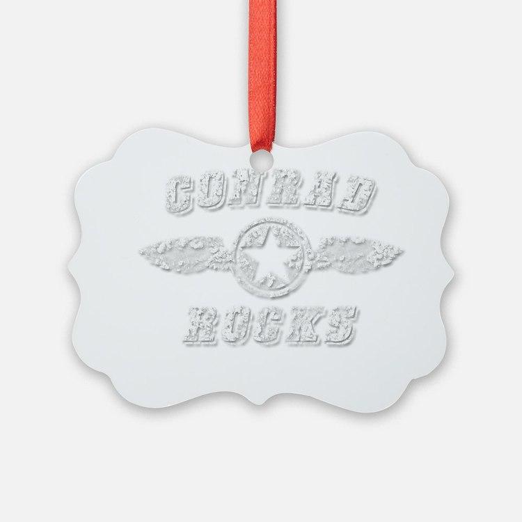 CONRAD ROCKS Ornament