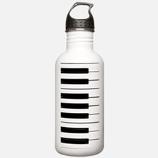 Piano Keys Sports Water Bottle