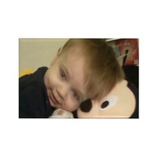 Aiden, Mickey Rectangle Magnet