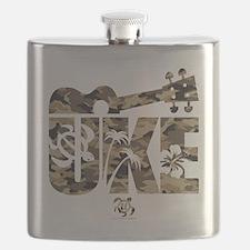 The Uke Camo Flask