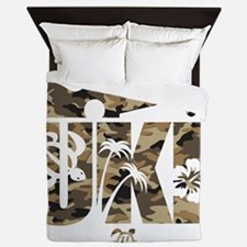 The Uke Camo Queen Duvet