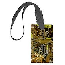 Circuit Board Luggage Tag