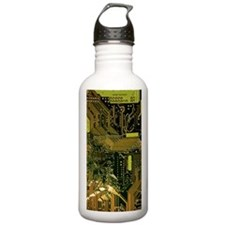 Circuit Board Water Bottle