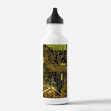 Circuit Board Water Bottle