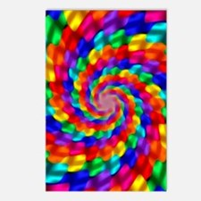 Psychedelic Spiral Postcards (Package of 8)