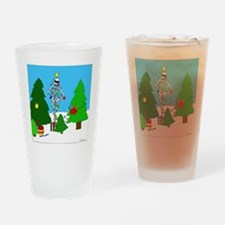 Merry Christmas! Drinking Glass