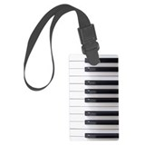 Piano Luggage Tags