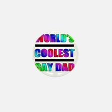 Worlds Coolest Gay Dad Mini Button