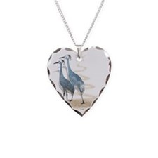 Sandy Claws is coming to town Necklace Heart Charm