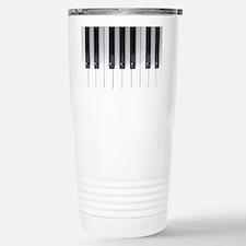 Piano Keyboard 5 Stainless Steel Travel Mug