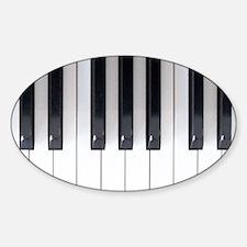 Piano Keyboard 5 Decal