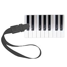Piano Keyboard 5 Luggage Tag