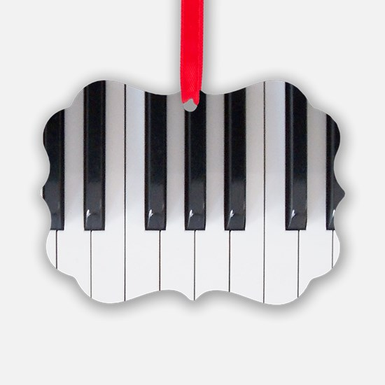 Piano Keyboard 5 Ornament