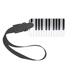 Piano Keyboard 6 Luggage Tag