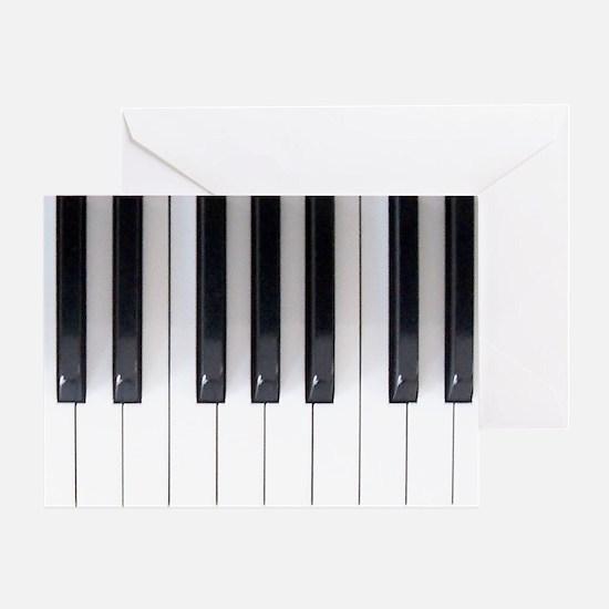 Keyboard 7 Greeting Card
