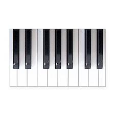 Keyboard 7 Rectangle Car Magnet