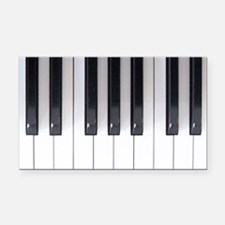 Keyboard 7 Rectangle Car Magnet