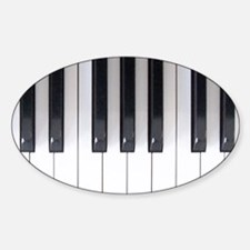 Keyboard 7 Sticker (Oval)